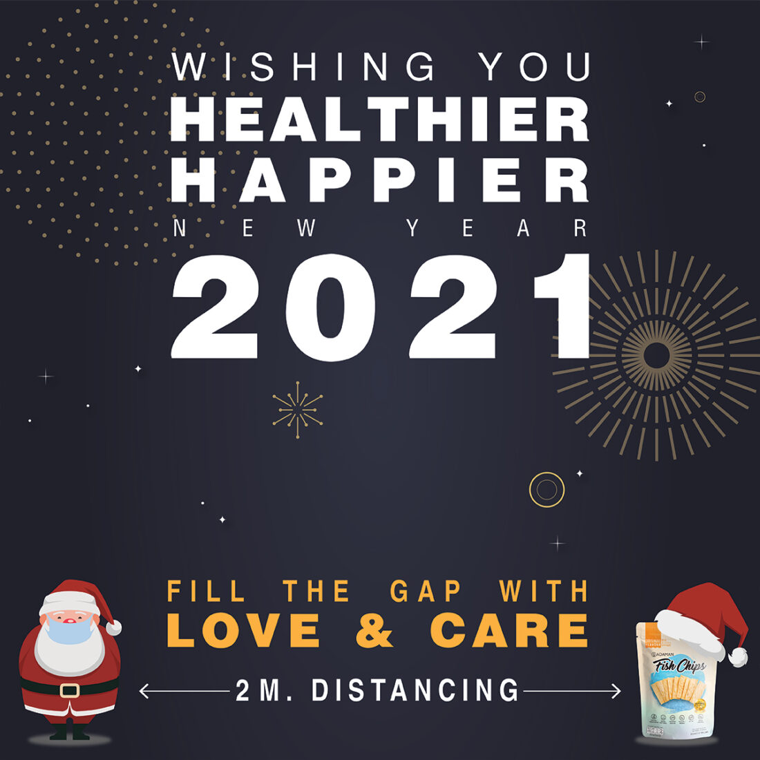 Wishing you all a Healthier & Happier New Year 2021.